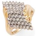 #1978 Kuldsõrmus teemantidega