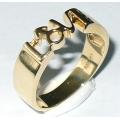 #2845 Kuldsõrmus (LOVE) Eriti eksklusiivne ja omapärane