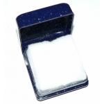 #9926 Kinkekarp sõrmusele (tumesinine, pealt kaanega)