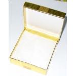 #9952 Kinkekarp (suurem, kuldne, pealt kaanega)